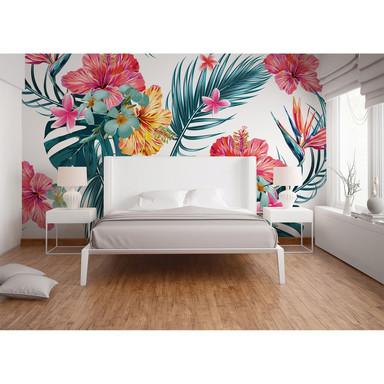 Livingwalls Fototapete Designwalls Tropical Art Blumen - Bild 1