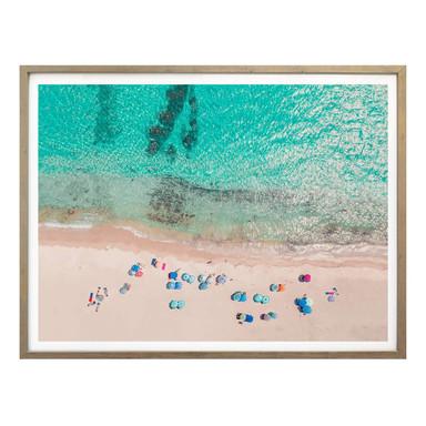 Poster Sisi & Seb - Am Strand