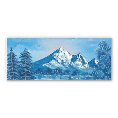 Wandbild Toetzke - Alpsee in den Bergen - Panorama