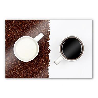 Acrylglasbild Lavsen - White Espresso