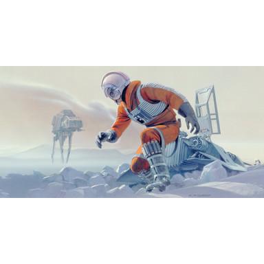 Fototapete Star Wars Classic RMQ Hoth Battle Pilot
