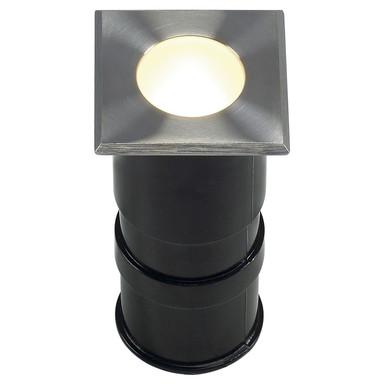 LED Bodeneinbaustrahler Power Trail Lite, eckig, 3000 K, warmweiss