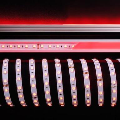 LED Stripe 5050-60-24V-Rgb-5M-Nano in Weiss W 2000lm IP44 10mm