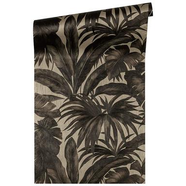 Versace Home Mustertapete Tapete Giungla Braun, Metallic