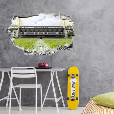 3D Wandtattoo BVB Signal Iduna Park bei Tag