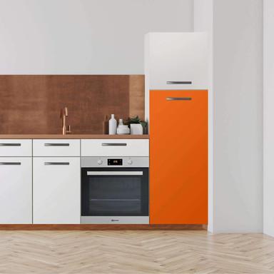 Klebefolie - Hochschrank (60x140cm) - Orange Dark- Bild 1