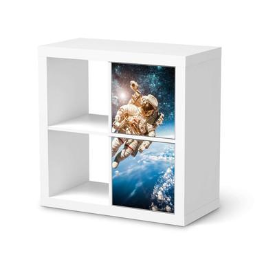 Klebefolie IKEA Expedit Regal 2 Türen (hoch) - Outer Space