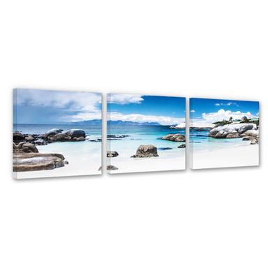 Leinwandbild Western Cape (3-teilig)
