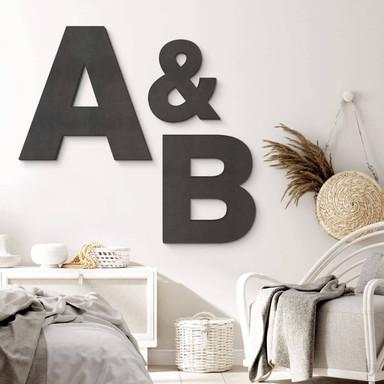 MDF-Holzbuchstaben zum Aufhängen - Swiss