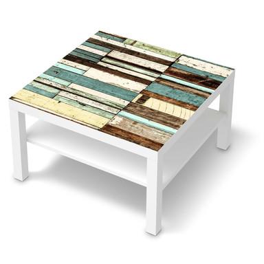 Möbelfolie IKEA Lack Tisch 78x78cm - Schiffsbruch