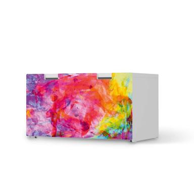 Möbelfolie IKEA Stuva / Malad Banktruhe - Abstract Watercolor