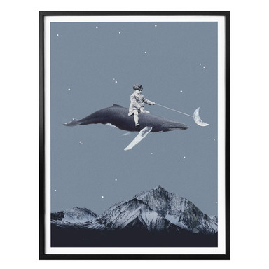 Poster Léon - Aim for the moon