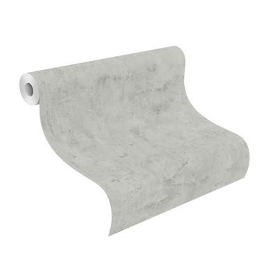 Rasch Vliestapete #Tapetenwechsel betongrau