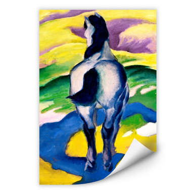 Wallprint Marc - Blaues Pferd II