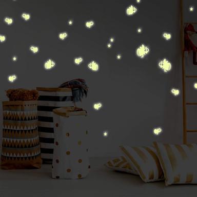 Leuchtsticker Glühwürmchen