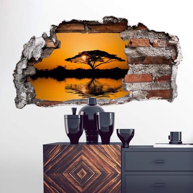 3D Wandtattoo Afrika