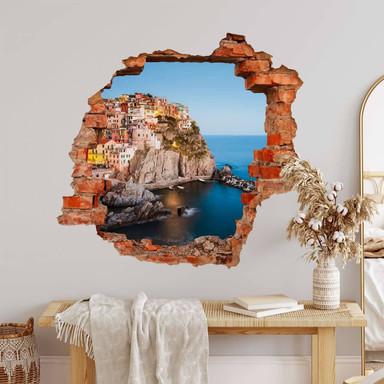 3D Wandtattoo Colombo - Cinque Terre