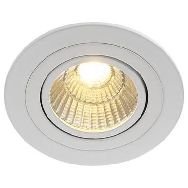 Dezenter LED Einbaustrahler Loke in weiss