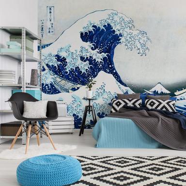 Fototapete Hokusai - Die grosse Welle