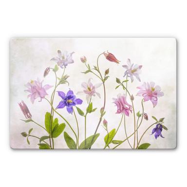 Glasbild Disher - Das Bouquet