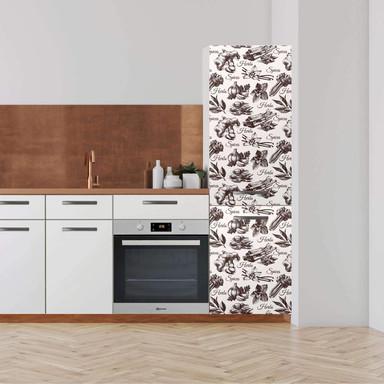 Klebefolie - Hochschrank (60x200cm) - Spices- Bild 1
