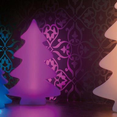 LED Baum Lumenio in Weiss RGB 400x260x85mm