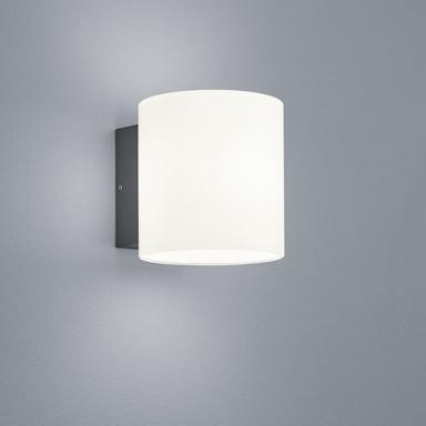 LED Wandleuchte Doon in Graphit und Weiss-satiniert 10W 410lm IP54