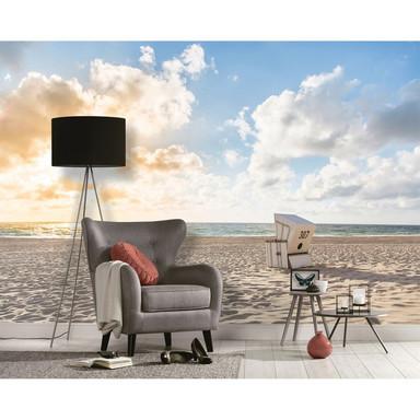 Livingwalls Fototapete Designwalls Beach Chair Strand