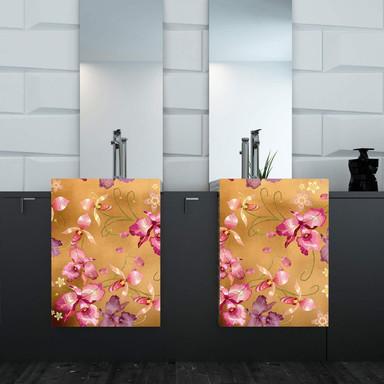 Metallicfolie Luxury Metallics pink orchid gold - selbstklebend - 150x45cm - Bild 1