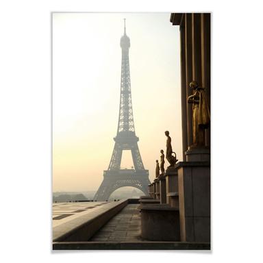 Poster Bonjour Paris