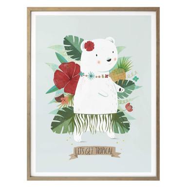 Poster Loske - Let´s get tropical