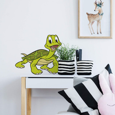 Wandsticker Benjamin Blümchen Schildkröte Sebastian
