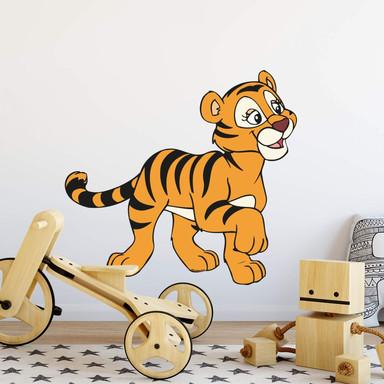 Wandsticker Benjamin Blümchen Tiger Tina