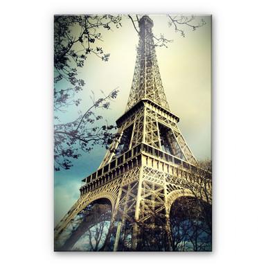 Acrylglasbild Paris Eiffelturm