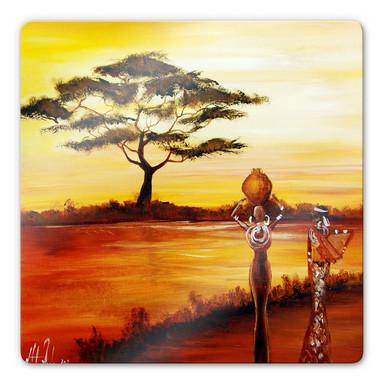 Glasbild Fedrau - Afrika