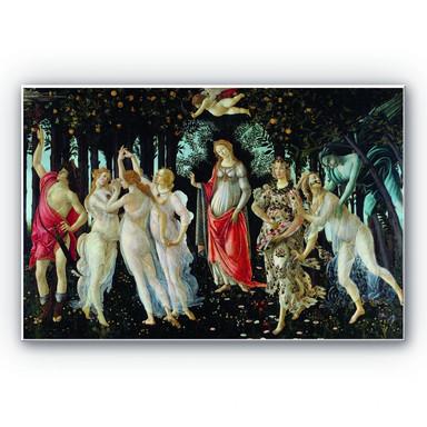 Hartschaumbild Botticelli - Der Frühling