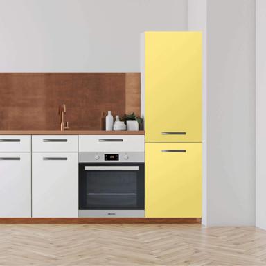 Klebefolie - Hochschrank (60x200cm) - Gelb Light- Bild 1