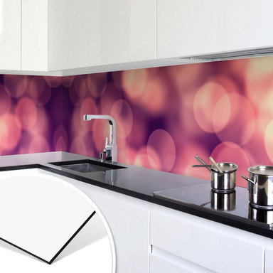 Küchenrückwand - Lichteffekt 01