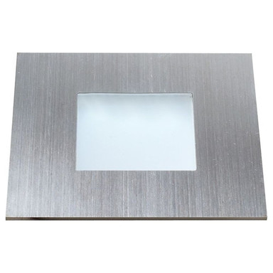 LED Möbeleinbauleuchte Quadro Point in Silber 0.6W 30lm