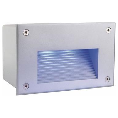 LED Wandeinbauleuchte Side III LED RGB in Silber-matt 5.9W 35lm IP65