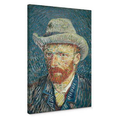 Leinwandbild van Gogh - Selbstbildnis