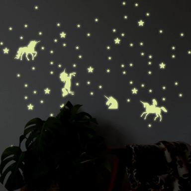 Leuchtsterne Einhörner Set