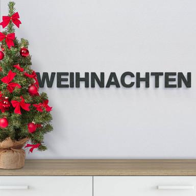 MDF-Holzbuchstaben Weihnachten