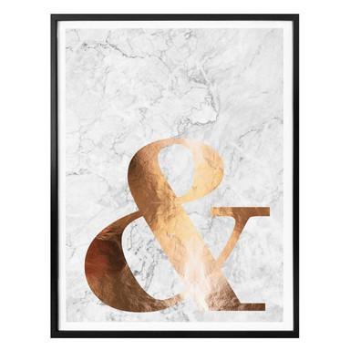 Poster Kupfer - Ampersand