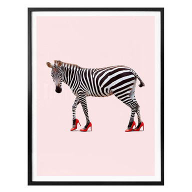 Poster Loose - Zebra Heels