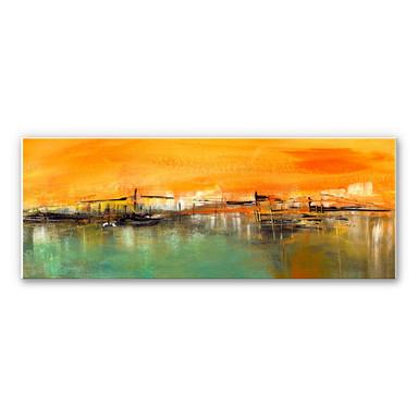 Wandbild Niksic - Am Wasser - Panorama