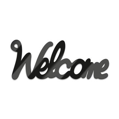 Acryl-Anhänger Welcome