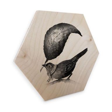 Hexagon - Holz Birke-Furnier Nicebleed - The Messenger
