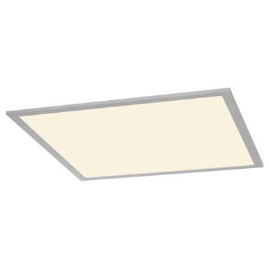 LED Panel I-Vidual, silbergrau, für Rasterdecken, 617x617 mm, 3000 K