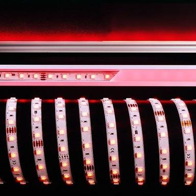 LED Stripe 5050-60-24V-Rgb-5M in Weiss 2000lm 10mm